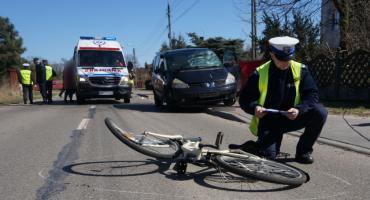 8 wypadków z udziałem rowerzystów – policja przypomina o przestrzeganiu przepisów