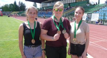 Lekkoatleci Wilgi z sześcioma medalami Mistrzostw Polski LZS
