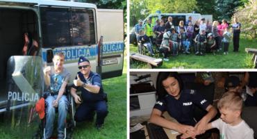 Spotkania dzieci z policjantami