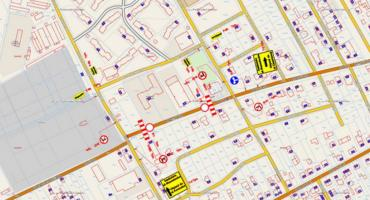 Utrudnienia w ruchu podczas Pikniku Militarnego – Mapka z objazdami