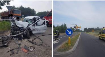 Wypadek na skrzyżowaniu w Wildze – Zderzenie 3 aut