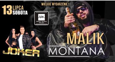 Malik Montana w Mega Music w Wildze