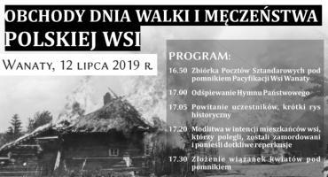 DzieńWalki i Męczeństwa Wsi Polskiej w Wanatach