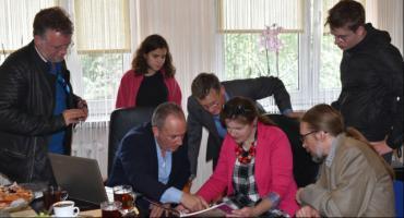 Wizyta potomków łaskarzewskich Żydów