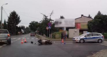 Wypadek – 19-latka doprowadziła do zderzenia z motorowerem