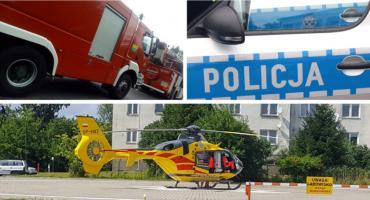 Śmierć w bloku – Nie było pogotowia, lekarza LPR przywieźli strażacy
