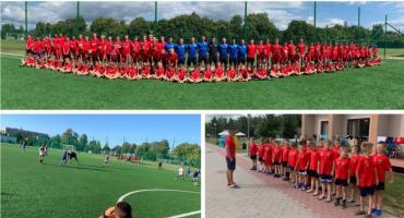 Był pot, czasem łzy zmęczenia – Obóz piłkarski zawodników Wilgi Garwolin