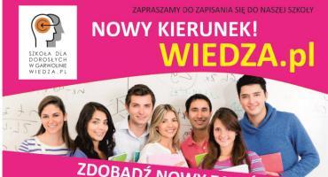 Szkoła dla dorosłych Wiedza.pl zaprasza!