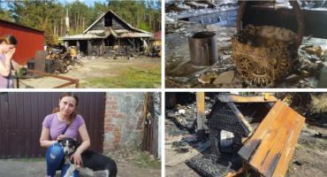 Spłonął im dom – Zbiórka dla Moniki i Marcina podczas dożynek w Miętnem