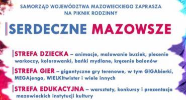 """Piknik rodzinny """"Serdeczne Mazowsze"""" w Siedlcach"""