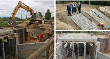 Odbudowa mostu w Trojanowie – Zakończenie prac coraz bliżej