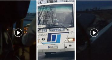 Chcemy wysiąść! Czy pan jest trzeźwy? – Co zrobił kierowca PKS Garwolin? Video