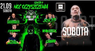 Raper Sobota, Noc Oczyszczenia II i ESKA TV w Mega Music Wilga