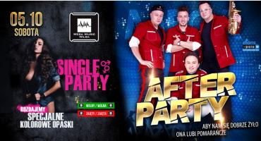Koncert After Party i wieczór Single Party w Mega Music