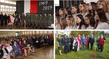 Wielkie święto w Lelewelu – Pół wieku z patronem i sztandarem (video)