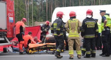 Wypadek na DK 76 – Droga zablokowana