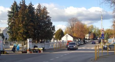Zmiana organizacji ruchu przy cmentarzu