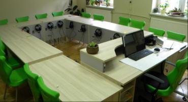 Nowa pracownia językowa w szkole w Mariańskim Porzeczu.