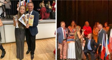 Nasz złoty talent – Wiktoria Piorun z Grand Prix na Festiwalu w Pradze
