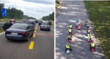 Korytarz życia podczas wypadku – Kierowcy na DK17 vs. przedszkolaki (video)