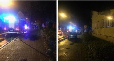 3 zastępy straży i policja na Długiej