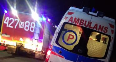 Wypadek na budowanym odcinku S17 – Źle zjechała z ronda