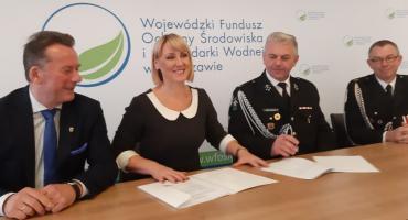 380 tys. zł dofinansowania na zakup samochodu dla OSP Unin