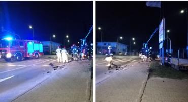 Wypadek w Gończycach – Trzy osoby w szpitalu