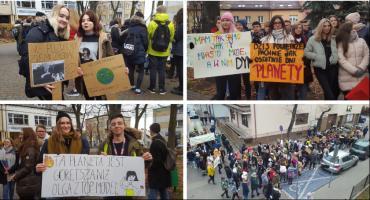 Młodzież strajkuje! Marsz dla klimatu w Garwolinie – Video