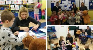Przedszkolaki świętowały z burmistrz miasta – Dzień Pluszowego Misia w Piątce