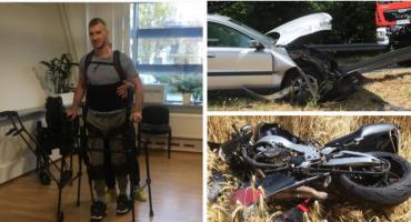 Adam cudem przeżył wypadek – Zbiórka na rehabilitację mężczyzny