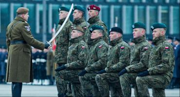 Mazowieccy terytorialsi na promocji oficerskiej