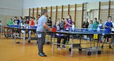 Najlepsi tenisiści stołowi w gminie