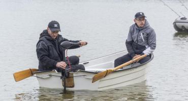 Na Jeleniu wędkowali z łodzi [GALERIA+FILM]