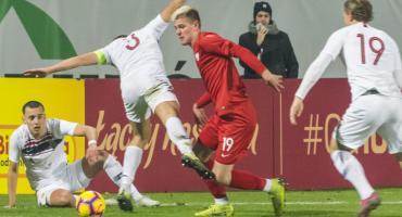 Karol Czubak zagrał w meczu Polska - Norwegia