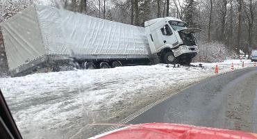 Uwaga na drogach. Zima nadeszła