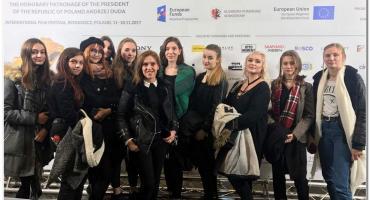 Inowrocławska młodzież na 25. Camerimage Festival