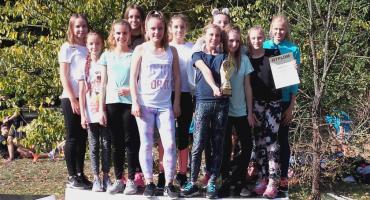 Sportowy sukces biegaczek z SP 4 w Inowrocławiu
