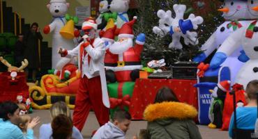 Mikołajkowa zabawa dla dzieci niepełnosprawnych