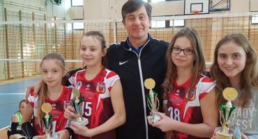 Dobry występ najmłodszych siatkarek  IAS w Ciechocinku