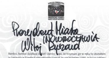 Owsiak odpowiedział prezydentowi
