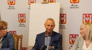 Konferencja prasowa prezydenta Inowrocławia