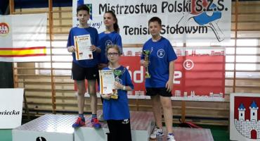 Ogólnopolski sukces tenisistów z SP4