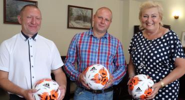 Okradziony klub ma już nowe piłki