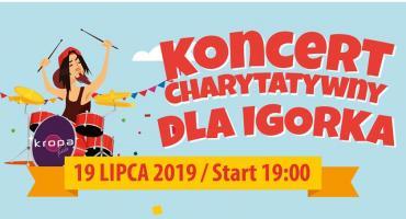 Koncert charytatywny dla Igorka
