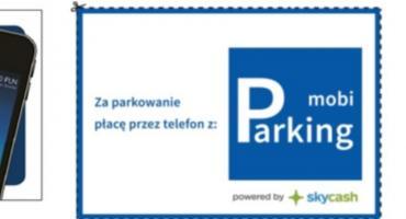 Kup bilet do parkomatu przez aplikację!