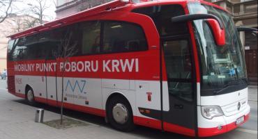 Akcja poboru krwi połączona z informacją o KMZB
