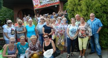 Inowrocławscy seniorzy w Lubostroniu