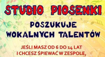 Studio Piosenki KCK poszukuje wokalnych talentów