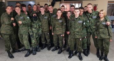 Wojskowy dzień szkoleniowy w Kośielcu